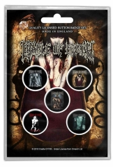 Button Pack - Cradle of Filth Albums