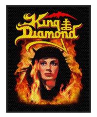 King Diamond Aufnäher Fatal Portrait