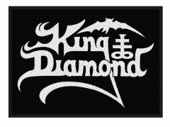 King Diamond Aufnäher Logo