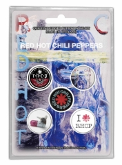 Button Set - Red Hot Chilli Peppers 'By the Way'