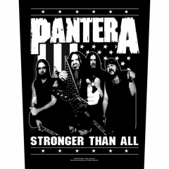 Pantera Backpatch Stronger than all