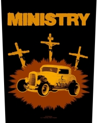 Ministry Backpatch 'Jesus Built My Hotrod'