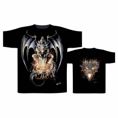 Biker T-Shirt Drache (Glow in the Dark)