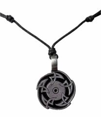 Halskette mit Sägeblatt Anhänger