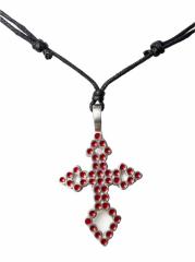 Halskette mit Kreuz Anhänger