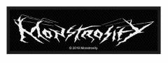 Monstrosity Logo Aufnäher