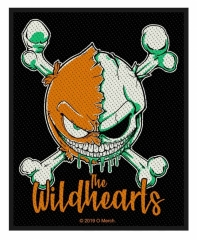 The Wildhearts Patch Green Skull