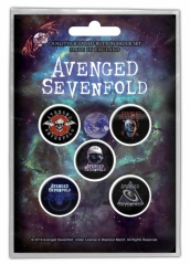 Button Pack - Avenged Sevenfold - The Stage