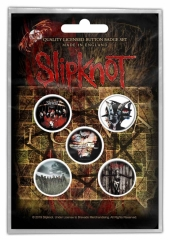 Button Pack - Slipknot - Albums
