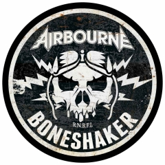 Airbourne Rückenaufnäher Boneshaker