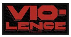 Vio-Lence Logo Aufnäher