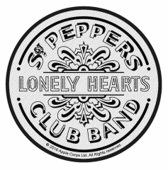 The Beatles Aufnäher Sgt Pepper Drum