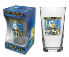 Trinkglas Iron Maiden Live after death