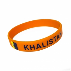 Silikon Armband Khalistan