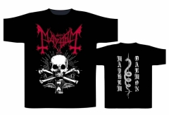 Mayhem - Alpha Omega Daemon T Shirt
