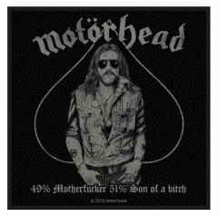 gewebter Aufnäher von Motörhead - 49% Motherfucker