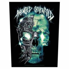 Avenged Sevenfold Backpatch Mechanical Skull