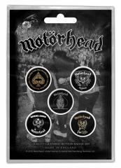 Button Badge Pack - Motörhead - Clean your Clock