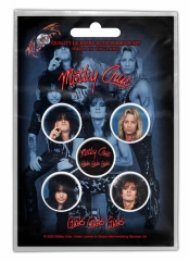 Button Pack - Mötley Crüe - Girls Girls Girls