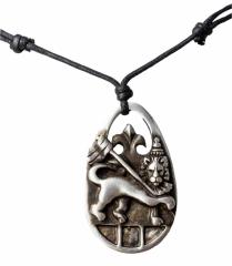 Halskette mit Wappen Anhänger
