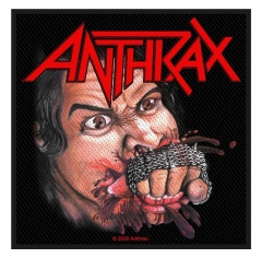 Anthrax Aufnäher Fistfull Of Metal
