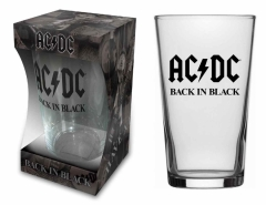 AC/DC Trinkglas Back in Black