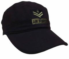 Armee Kappe US Airforce Schwarz