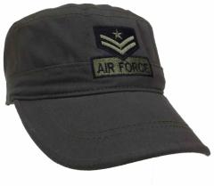 Armee Kappe US Air Force Grau