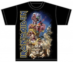 Iron Maiden Shirt Somewhere back in time