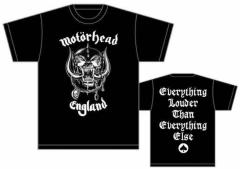Motörhead - England - T Shirt