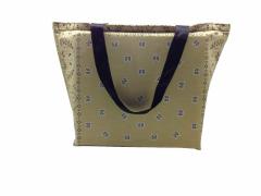 Shopper Tasche Paisley Beige