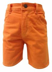 Kids shorts in orange