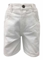 Kinder Jeans Shorts Weiß