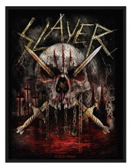 Slayer Aufnäher Skull & Swords