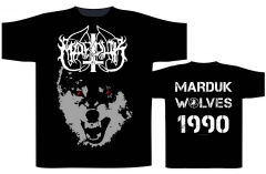 Marduk - Wolves 1990 T Shirt