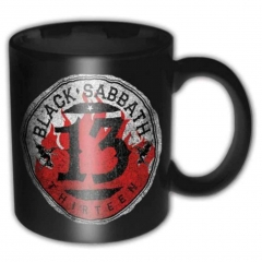 Merchandise Tasse Black Sabbat - 13 Flame Circle