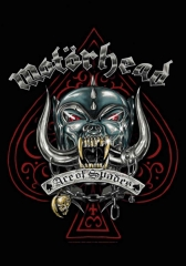 Motörhead Posterfahne Ace of Spades Tatoo