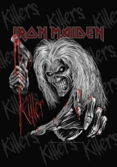 Posterfahne Iron Maiden Killer