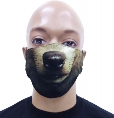Gesichtsmaske Bär
