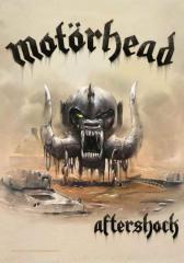 Motörhead Posterfahne Aftershock