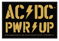 AC/DC PWR UP Aufnäher