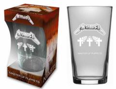 Metallica Trinkglas Master of puppets