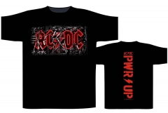 AC/DC PWR UP Cables T-Shirt