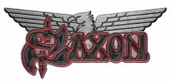Anstecker Saxon Logo Adler Metal Pin Badge