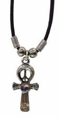 Halskette mit keltischem Kreuz