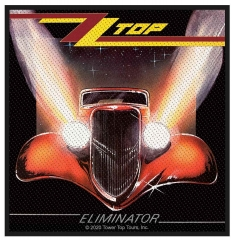 ZZ Top Eliminator Aufnäher