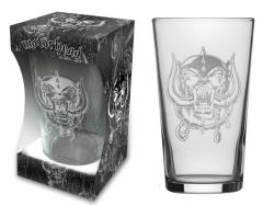 Trinkglas Motörhead Warpig Etched Print