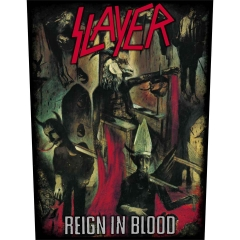 Slayer Reign in Blood Rückenaufnäher