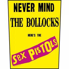 Sex Pistols Never Mind The Bollocks Backpatch
