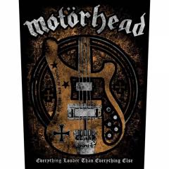 Motörhead Lemmys Bass Rückenaufnäher